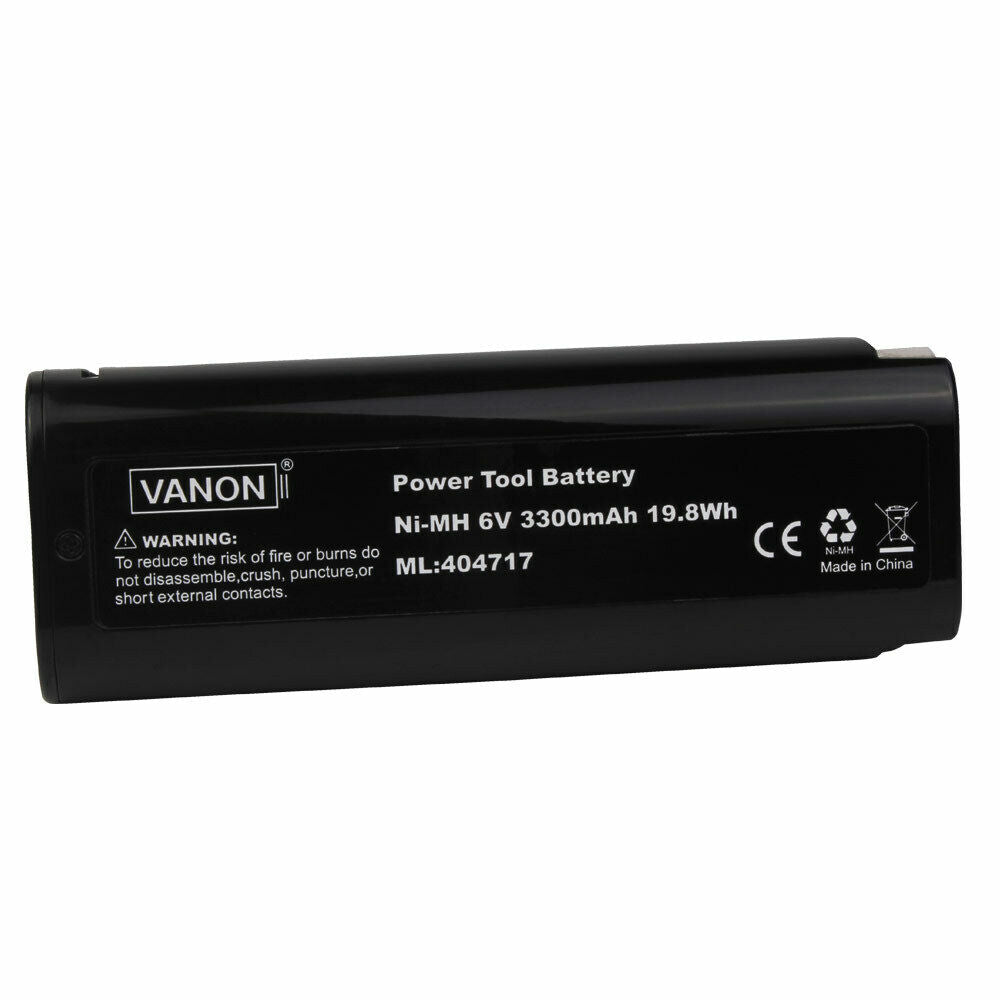For Paslode 6V Battery Replacement | 404717 3.3Ah Ni-MH Battery 4 Pack