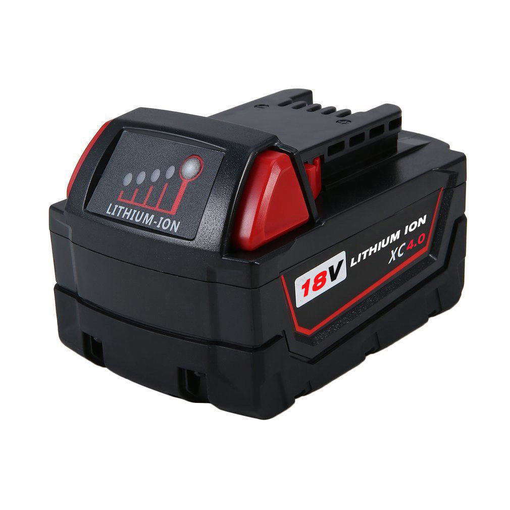 Milwaukee 18V | M18 Battery | Milwaukee 18V M18 Battery | 4.0Ah Lithium-Ion Replacement Battery | front