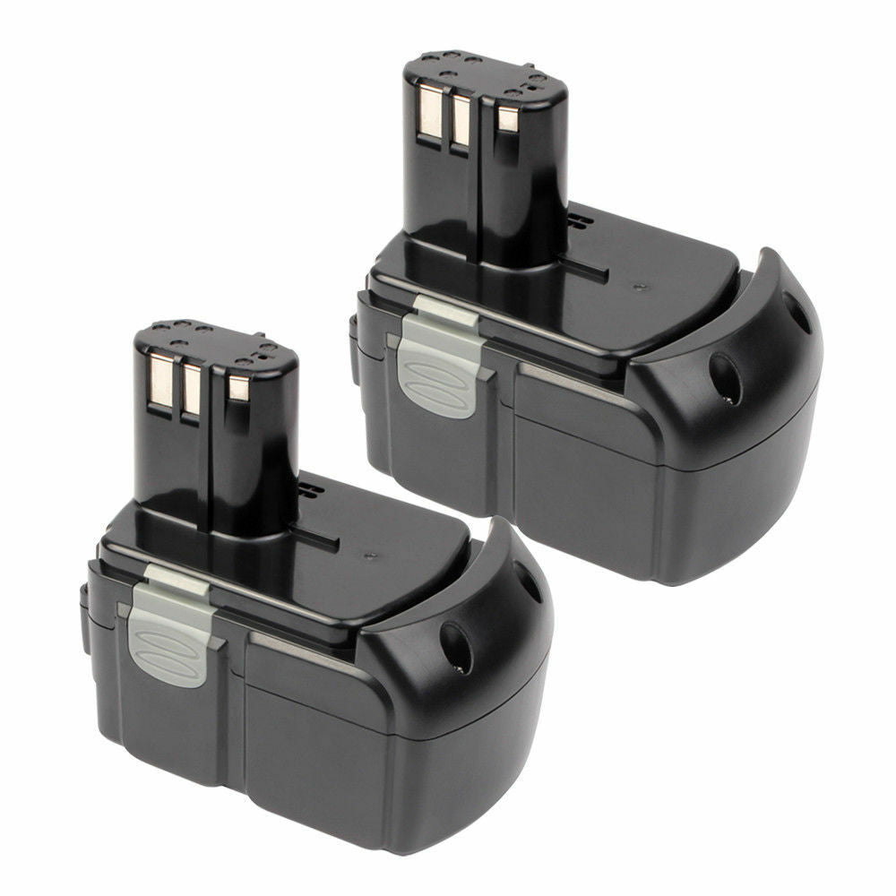 For Hitachi 18V Battery EBM1830 |  4.0Ah Li-ion Battery Replacement 2 Pack