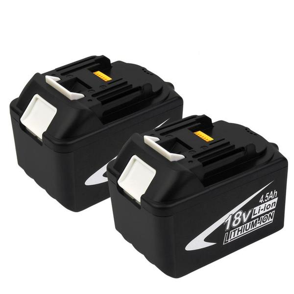 For Makita 18V BL1845 Battery | 4.5Ah Lithium-Ion Battery Replacement | 2 Pack