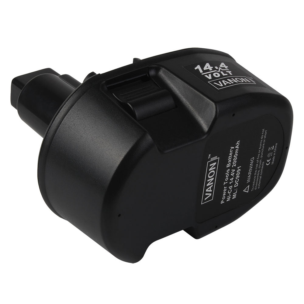 For Dewalt 14.4V Battery Replacement | DC9091 3000mAh Ni-MH Battery | 1