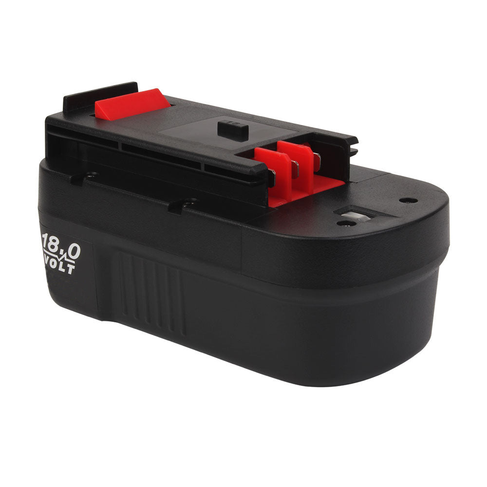18V Black & Decker | Black & Decker Battery Replacement | HPB18 3600mAh Ni-MH Battery | left