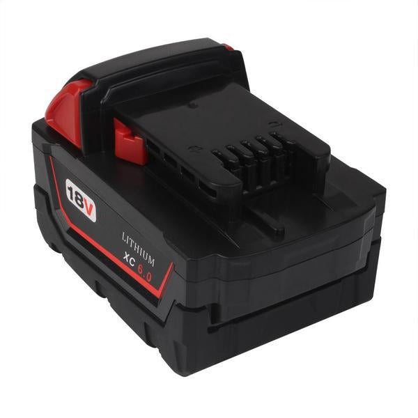 Milwaukee M18 | M18 18V Battery | Milwaukee M18 18V Battery Replacement | 6.0Ah Li-ion Battery | back