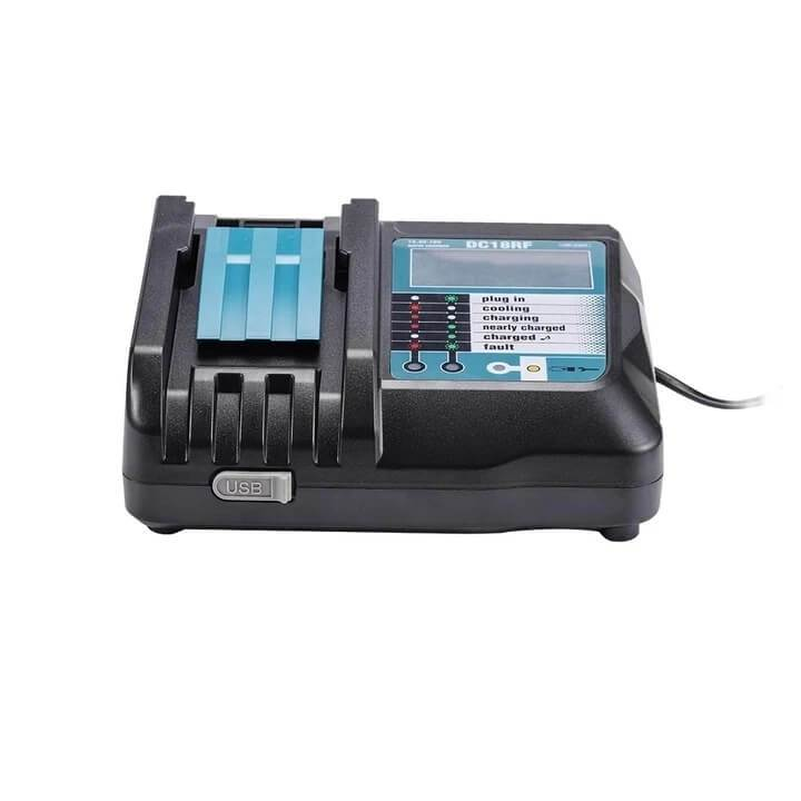 14.4V-18V Rapid Battery Charger for Makita DC18RF/RC Li-Ion BL1860 BL1850 BL1830 | 2