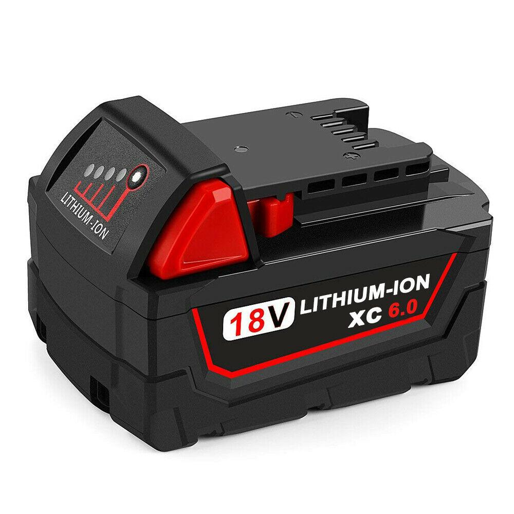 Milwaukee M18 | M18 18V Battery | Milwaukee M18 18V Battery Replacement | 6.0Ah Li-ion Battery | front