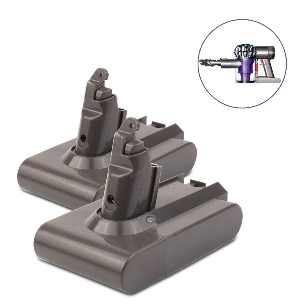 For Dyson 21.6V Vacuum Battery Replacement | DC62 2.0Ah Li-ion Battery 2 Pack