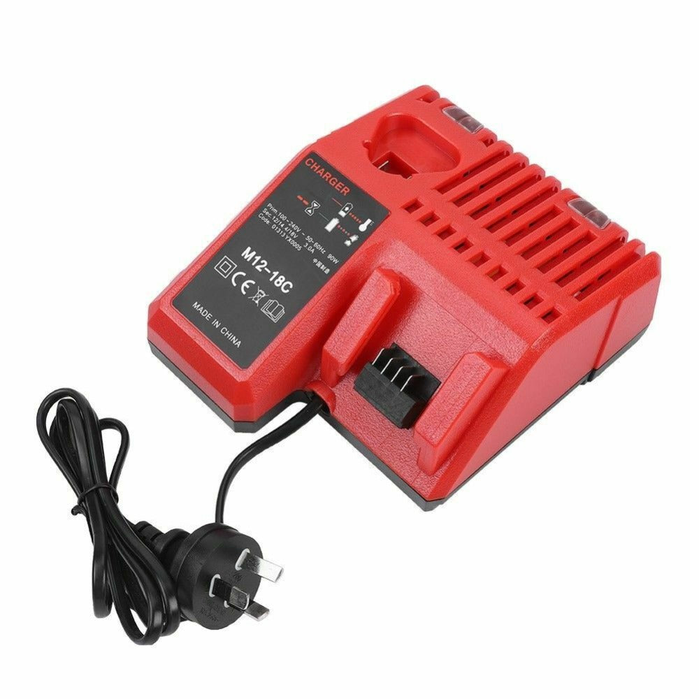 Milwaukee M18 |  M18 18V | Milwaukee M18 18V XC 9.0Ah Battery Replacement Li-Ion | charger