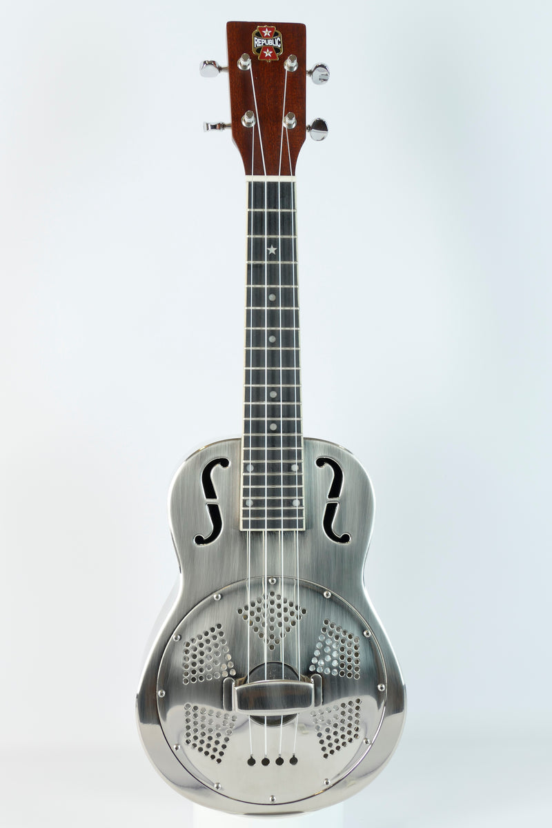 Concert Ukulele | Brushed Nickel