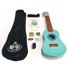 Load image into Gallery viewer, KeiKi Ukulele in Seafoam Green