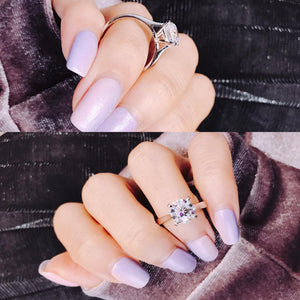 Classic 4 Claws Solitaire Ring 經典四爪戒指 (JR021)