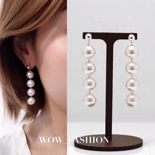 Swarovski Pearl Earrings(SWPE011)