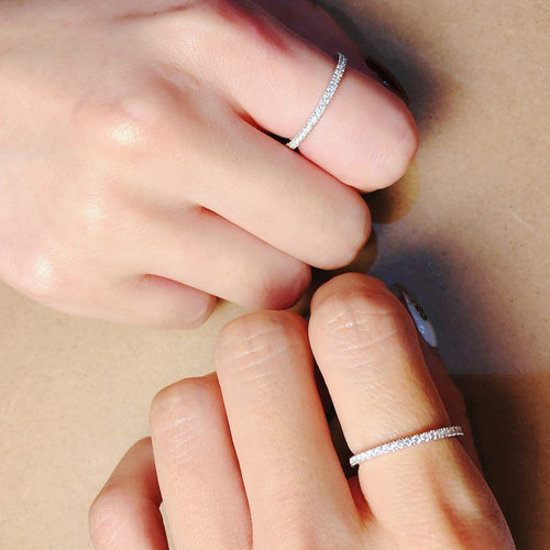 1.3mm Classic Full Round Ring 全圈戒指 (JR001)