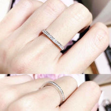 Load image into Gallery viewer, 1.7mm Classic Half Round Invisible Ring 壁鑲半圈戒指 (JR005)