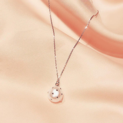 Freshwater Pearl Necklace 海菠蘿淡水珍珠頸鏈 (FPN002)