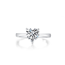 Load image into Gallery viewer, Heart Cut Solitaire Ring 心形戒指 (JR038)