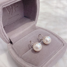 Load image into Gallery viewer, Swarovski Pearl Earrings 圈圈珍珠耳環 (SWPE003)
