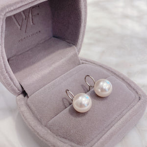 Swarovski Pearl Earrings 圈圈珍珠耳環 (SWPE003)