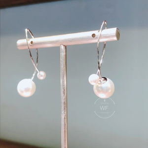 Swarovski Pearl Earrings(SWPE035)