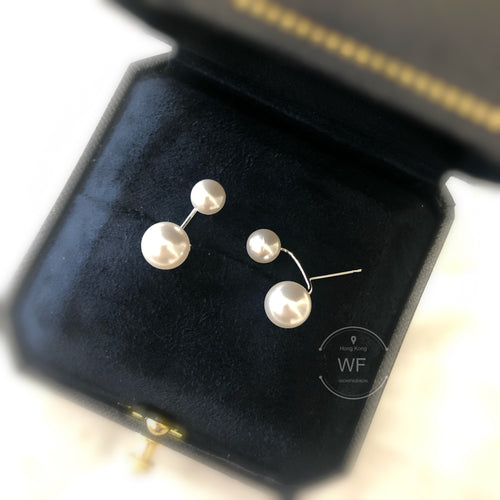 Swarovski Pearl Earrings 大小珍珠耳環 (SWPE019)