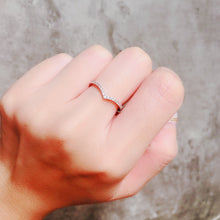 Load image into Gallery viewer, 1.3mm Classic V Shape Ring  V型戒指 (JR003)