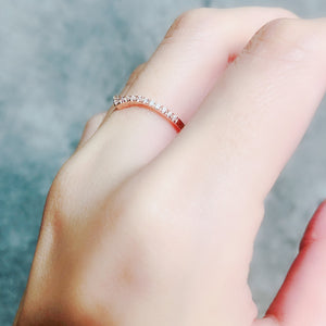 1.3mm Classic V Shape Ring  V型戒指 (JR003)