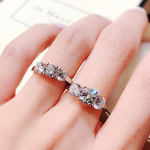 Load image into Gallery viewer, 6.5mm Trio Ring 6.5mm 經典四爪Trio戒指 (JR016)