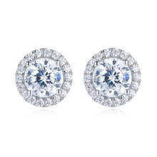 Load image into Gallery viewer, Halo Setting Earrings (JE007)