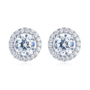 Halo Setting Earrings (JE007)