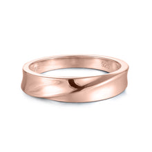 Load image into Gallery viewer, 10K Rose Gold Infinity Plain Ring 10K金Infinity戒指 (10KR012)