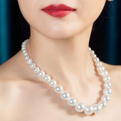 Swarovski Pearl Necklace (SWPN011)