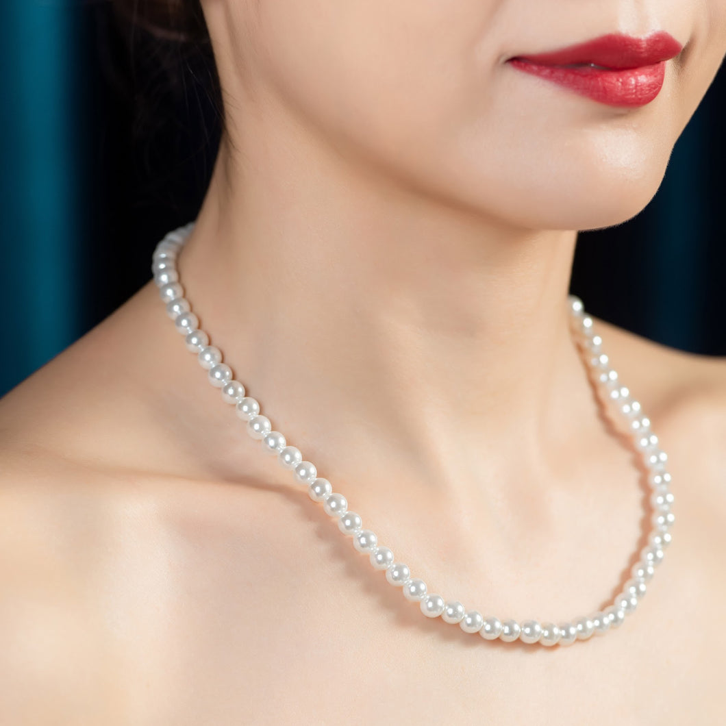 Swarovski Pearl Necklace (SWPN012)