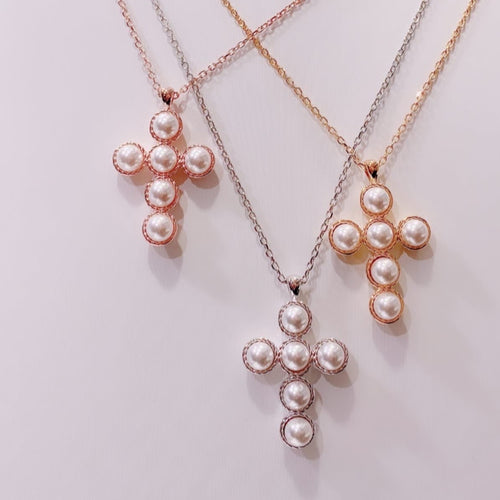 Swarovski Pearl Necklace (SWPN015)