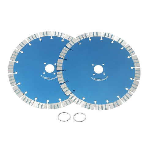 "2pcs 9"" (230mm)  diamond saw blade for concrete marble masonry and tile - Dashing Blade"