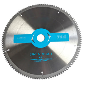 "10"" (254*25.4*2.8*) 100T / 120T  Ultra Fine Cuts saw blade - Dashing Blade"