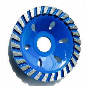 "4"" ( 100*22/16*4) turbo cup grinding wheel for grinding - Dashing Blade"