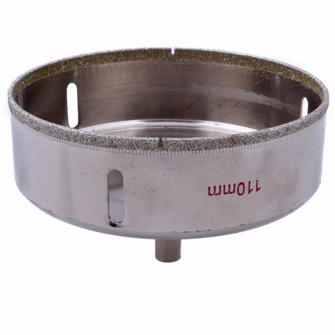"Image of Diamond Hole Saw available sizes from 1.5"" to 4.5"" (40-110 mm ) diameter - Dashing Blade"