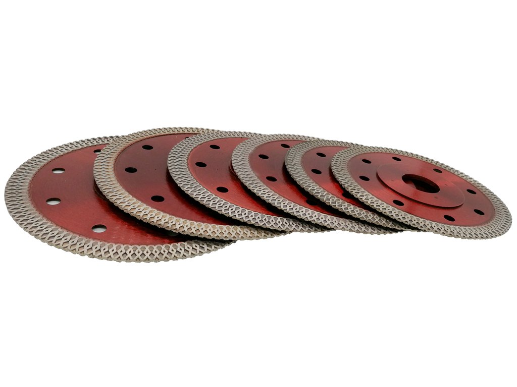 "4"" /  4.5"" /  5""  Diamond Blade for Porcelain and Ceramic Dry or Wet Cutting - Dashing Blade"