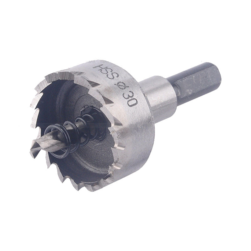 12-50mm HSS Drill Bit Hole Saw Set Stainless Steel Metal Alloy - Dashing Blade