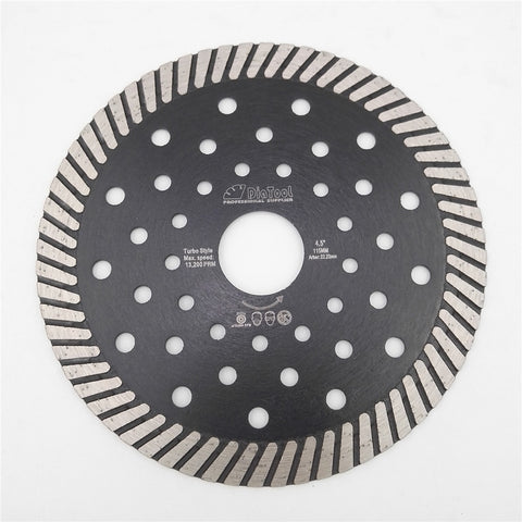 "Image of 4.5""/5""/7""/9"" Diamond Hot Pressed Turbo Blade - Dashing Blade"