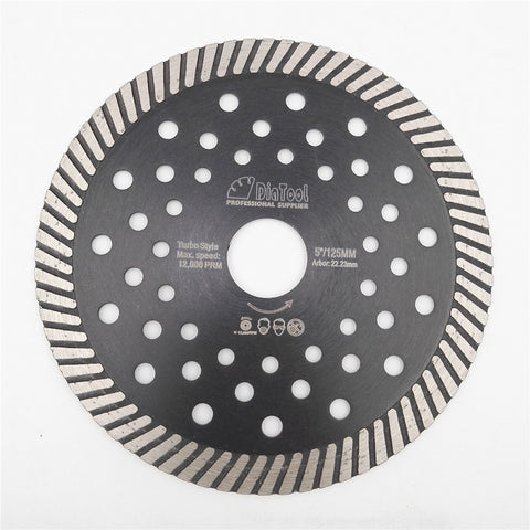 "4.5""/5""/7""/9"" Diamond Hot Pressed Turbo Blade - Dashing Blade"