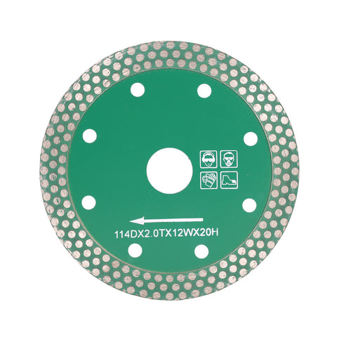 4.5 inch Dry Cutting Diamond Saw Blade 20mm Arbor Diameter - Dashing Blade