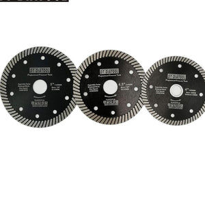"4"" /4.5"" / 5"" Super-Thin Hot Pressed Turbo Diamond Blade - Dashing Blade"