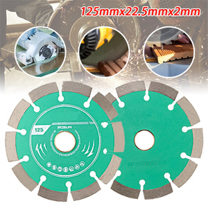 "5"" (125mm) Segmented Diamond Saw Blade for Concrete Marble Masonry Tile - Dashing Blade"