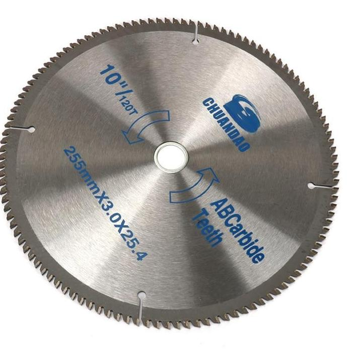 "10""  (255mm) Carbide Circular Saw Blade For Cutting Wood  40T/60T/80T/100T/120T - Dashing Blade"