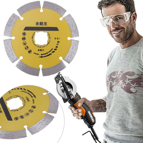 "4.5"" (114mm) Diamond Cutting Segmented Disc  Stone Brick Concrete - Dashing Blade"