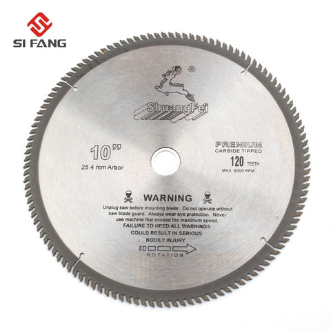 4/6/7/8/9/10 inch  General Purpose Circular Saw Blade Carbide Tip For Cutting Wood Aluminum 40T/60T/80T/100T/120T - Dashing Blade