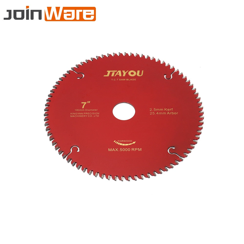 "7""/9""/10""/12"" 60T/80T/100T/120T Saw Blade Carbide Tipped Wood Aluminum Cutting Disc Wheel For DIY & Decoration General Cutter - Dashing Blade"