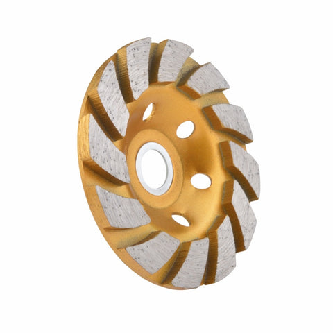 "4"" (100 mm) Concrete Diamond Grinding Cup Wheel - Dashing Blade"