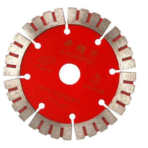 "5"" (125mm ) Diamond Circular Saw Blade For Concrete Granite Ceramic 15MM Kerf Width - Dashing Blade"