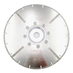 DIATOOL 230mm Electroplated Reinforced Diamond Cutting Disc 9 Inches Marble Blade With 22.23mm or M14 Flange - Dashing Blade